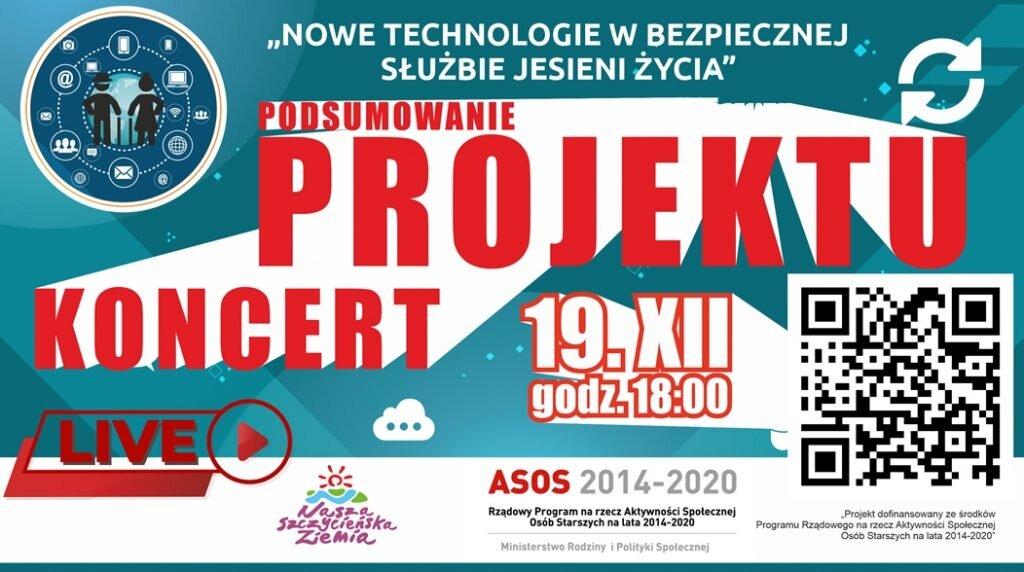 Konferencja podsumowująca projekt z koncertem kolęd On-Line