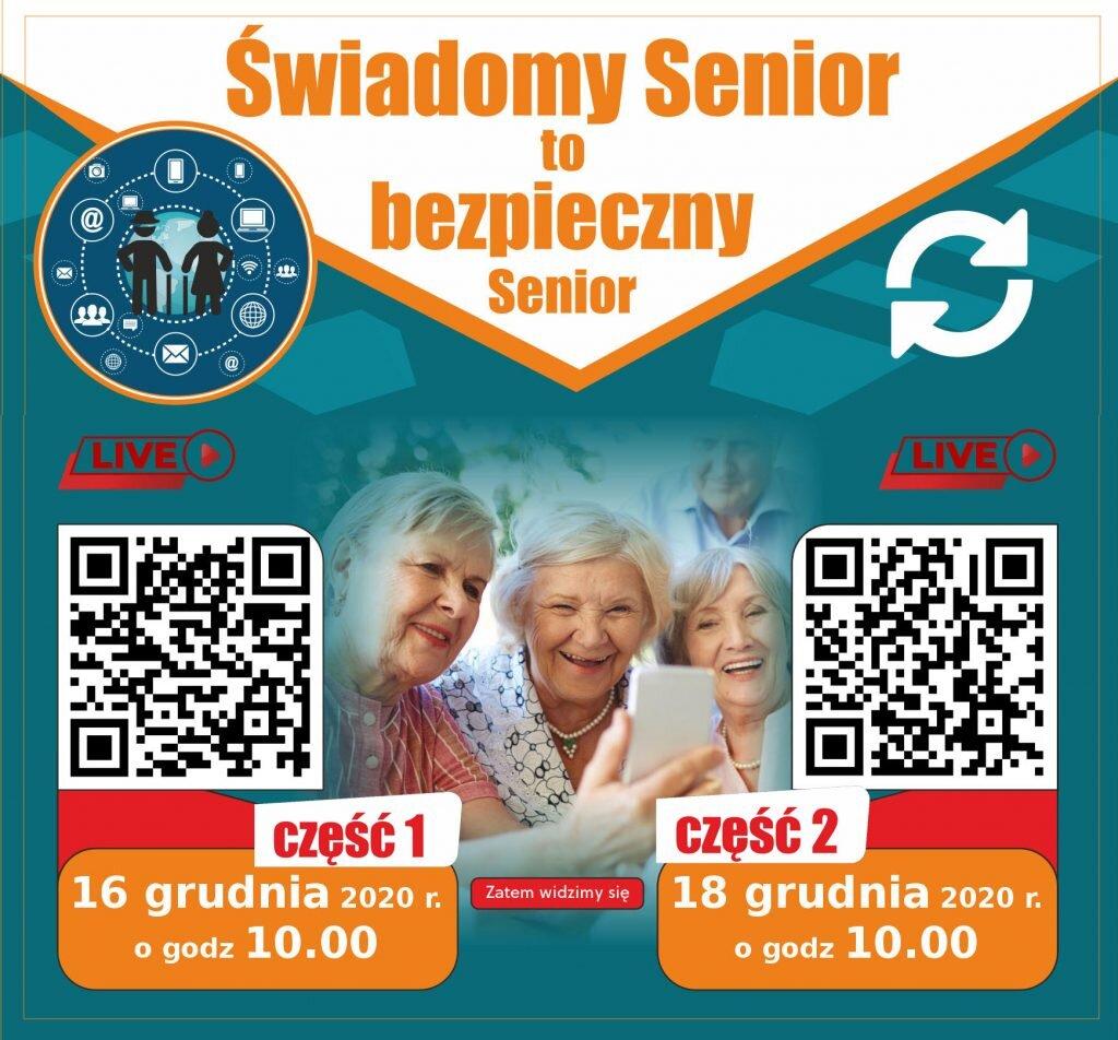 Świadomy Senior to bezpieczny Senior